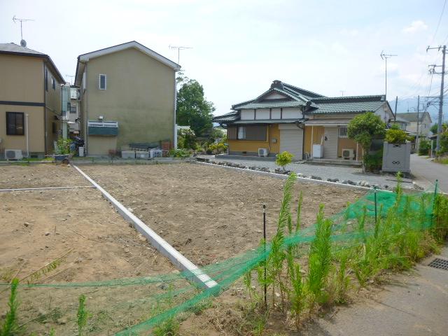 【小田原市栢山 3区画分譲地 1号地】外観写真
